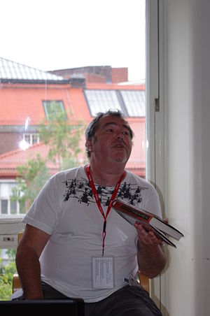 Ian McDonald (British author) - Ian McDonald at Eurocon/Swecon 2011 in Stockholm.