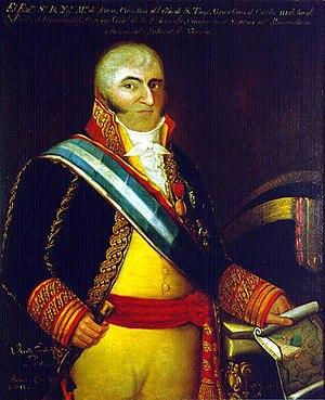 Ignacio Maria de Álava y Sáenz de Navarrete - An 1818 portrait of Admiral Álava by Vicente Escobar, Museo Naval de Madrid