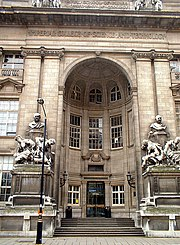 Royal School of Mines entrance.