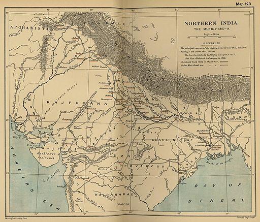 India north 1857
