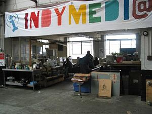 Indymedia workshop