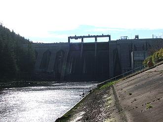 ESB Group - Inniscarra hydro-electric dam, River Lee, Co. Cork