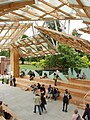 Inside of Gehry's Serpentine Gallery Pavilion 2008 - geograph.org.uk - 890826.jpg