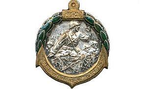 3rd Marine Infantry Regiment - Image: Insigne régimentaire du 3e R.I.C, DEBOUT LES MORTS