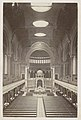 Interieur van de Nieuwe Synagoge in Berlijn banken, koor en gewelven Berliner Synagogan (titel op object), RP-F-F01212-45-4.jpg