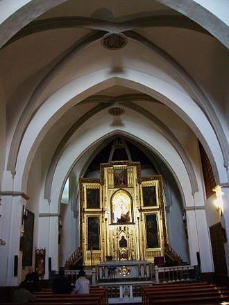 Convent of Santa Clara of Gandia - Church of the Convent of Santa Clara of Gandia