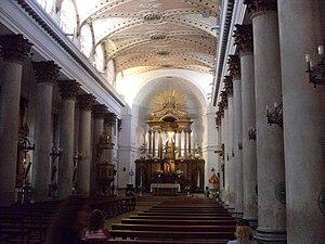 Catedral Basílica Inmaculada Concepción del Buen Viaje - Interior of the Catedral Basílica.