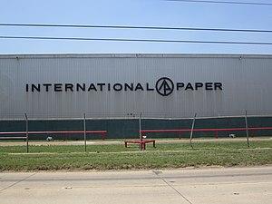 Cullen, Louisiana - Image: International Paper Co., Cullen, LA IMG 5138