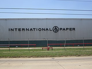 International Paper American pulp and paper company