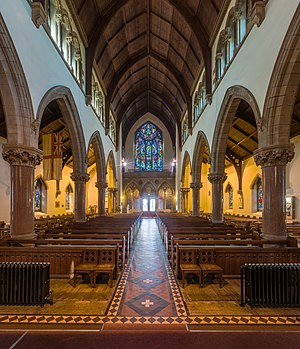 Inverness Cathedral - Image: Inverness Cathedral Nave 2, Scotland, UK Diliff