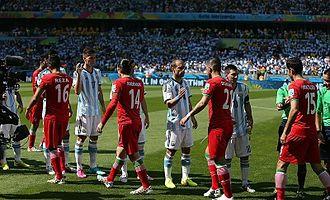 Iran national football team - Iran vs. Argentina, 2014 FIFA World Cup