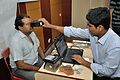Iris Scan - Biometric Data Collection - Aadhaar - Kolkata 2015-03-18 3662.JPG