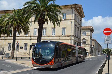 Transports En Commun De Nîmes Wikiwand