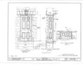 Irvine Estate,Irvine Farmhouse, Irvine, Warren County, PA HABS PA,62-IRV,2A- (sheet 7 of 14).png