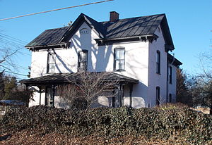 Isaac Harrison McKaughan House - Isaac Harrison McKaughan House, January 2015