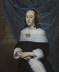 Portret van Johanna de Lange (1635-1673)