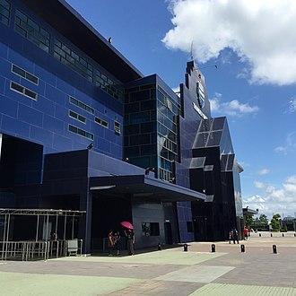 Buriram United F.C. - in front of the stadium