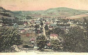 Ischua, New York - Image: Ischua, N.Y. Postcard