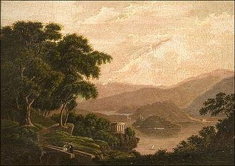 Sophia Hawthorne - Isola San Giovanni by Sophia Peabody, 1839–40