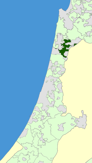 Israel Map - Menashe Regional Council Zoomin.svg