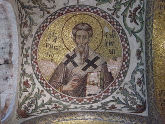 Gregory the Illuminator - Image: Istanbul Chiesa Pammacaristos (Fetiye camii) San Gregorio armeniaco Foto G. Dall'Orto 26 5 2006