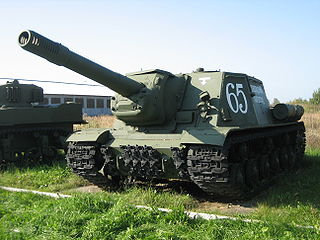 ISU-152 Soviet tank destroyer