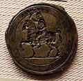 Italia, anonimo, cavaliere con spighe in mano, xvi sec.JPG