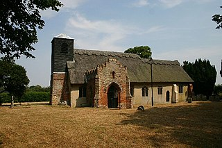 Ixworth Thorpe village in the United Kingdom