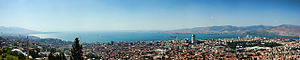 Izmir panorama from Kadifekale