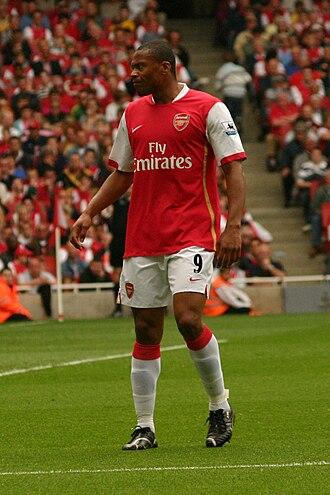 Júlio Baptista - Baptista playing for Arsenal in 2007