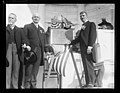 J.J. Jusserand, Edwin Denby and memorial plaque, Arlington National Cemetery, Arlington, Virginia LCCN2016891297.jpg