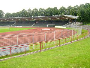 Jahnstadion (Göttingen) - Image: JAHN STADION 009