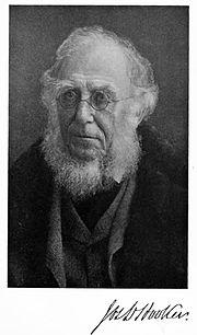 Joseph Dalton Hooker  in 1908