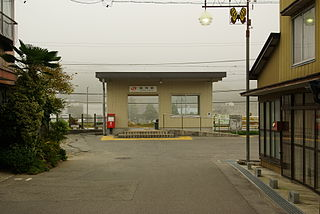 Dashina Station Railway station in Iida, Nagano Prefecture, Japan