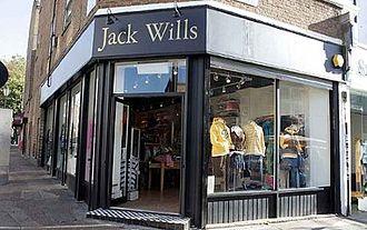 Jack Wills - Jack Wills Storefront
