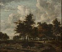 Jacob van Ruisdael - Road through a Grove.jpg