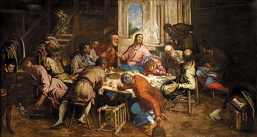 Jacopo Tintoretto - Last Supper - San Trovaso Venice