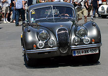jaguar xk120 fastest production car