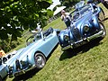 Jaguar XK140 DHC (both 1955) (36157818801).jpg