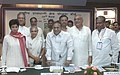 Jaipal Reddy and the Minister of State for Urban Employment & Poverty Alleviation, Kumari Selja at the meeting of the National Capital Region Planning Board, in New Delhi. The Lt. Governor of Delhi, Shri B.L. Joshi.jpg