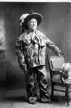 James Edgar (entrepreneur) - Edgar dressed as a clown