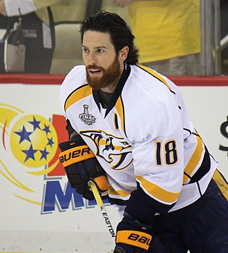 James Neal (ice hockey) - Neal with the Predators in the 2017 Stanley Cup Finals.