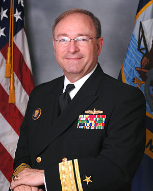 James P. Wisecup - Image: James P. Wisecup, United States Navy Rear Admiral official photo