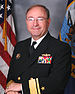 James P. Wisecup, United States Navy Rear Admiral official photo