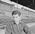 Jampie Kuneman (HBS) in het Olympisch Stadion in Amsterdam, enige dagen na de oe, Bestanddeelnr 191-1087.jpg
