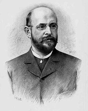 Alois Jirásek - Portrait of Alois Jirásek by Jan Vilímek.