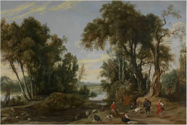 File Jan Wildens Landscape With Dancing