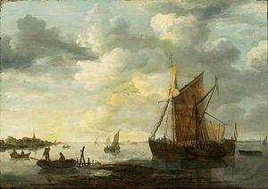 Jan van Goyen - Avond op de Maas.jpg