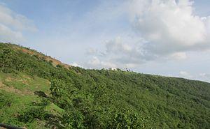 Janapav - Janapav Kuti while climbing the mountain