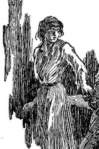 Jane Porter (Tarzan) - Early depiction by J. Allen St. John from The Beasts of Tarzan (1st edition, 1916)